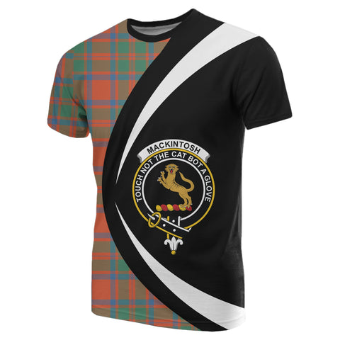 MacKintosh Ancient Tartan T-shirt Circle
