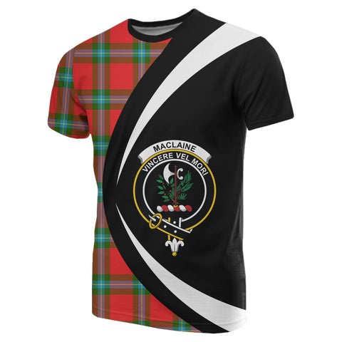 Image of MacLaine of Loch Buie Tartan T-shirt Circle