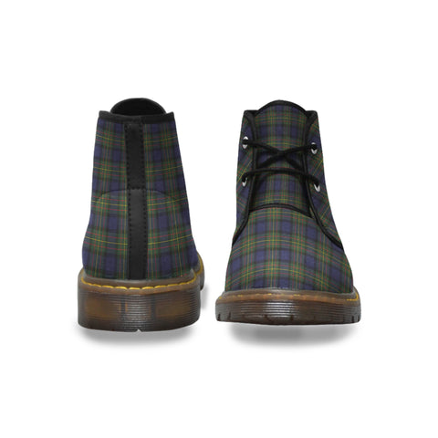 MacLaren Modern Tartan chukka Boot | Over 500 Tartans | Special Custom Design | Love Scotland