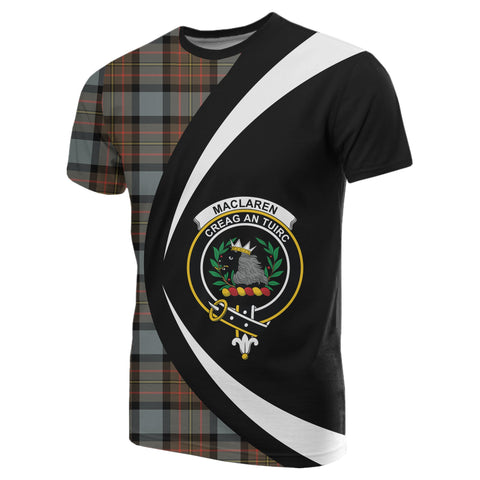 Image of MacLaren Weathered Tartan T-shirt Circle
