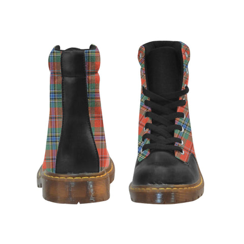 Image of Tartan Apache Boot - Maclean Of Duart Ancient | Footwear | Over 500 Tartans