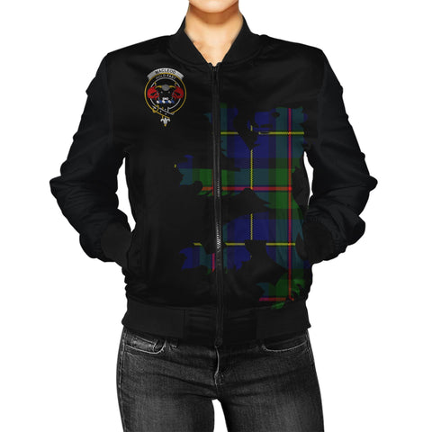 Macleod Tartan Lion & Thistle Women Jacket