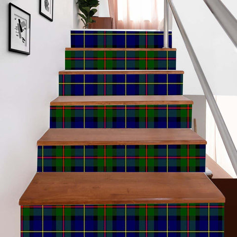 Scottishshop Tartan Stair Stickers - MacLeod Stair Stickers - NAC