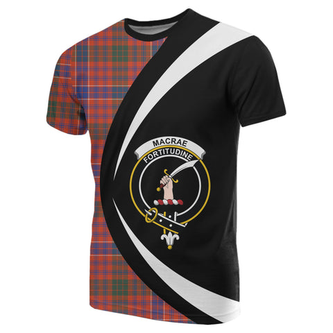 Image of MacRae Ancient Tartan T-shirt Circle