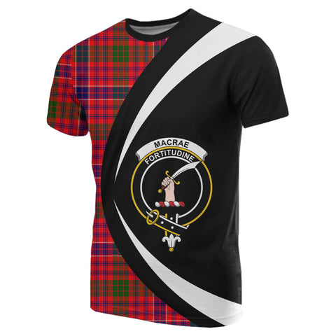 Image of MacRae Modern Tartan T-shirt Circle