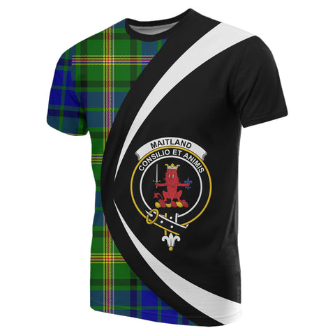 Image of Maitland Tartan T-shirt Circle