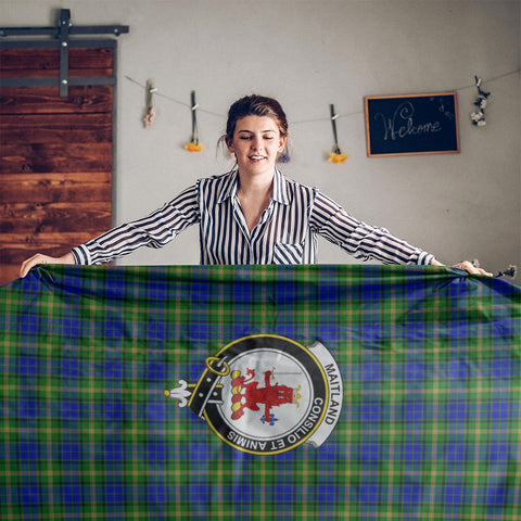 Maitland Crest Tartan Tablecloth | Home Decor
