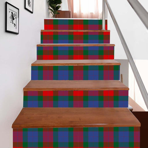 Scottishshop Tartan Stair Stickers - Mar Stair Stickers - NAC