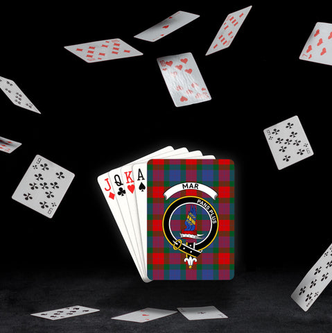 ScottishShop Mar Playing Card - Tartan Playing Card Royal Style