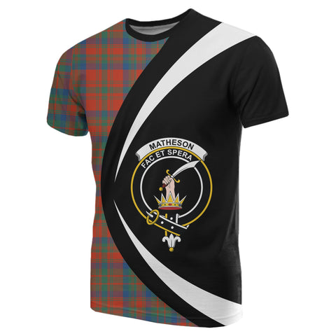 Matheson Ancient Tartan T-shirt Circle