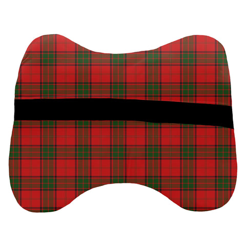 Tartan Head Cushion - Maxtone Head Cushion With Clan Crest
