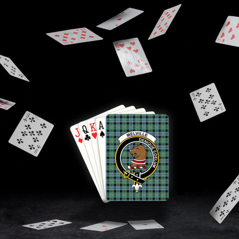 Image of ScottishShop Melville Playing Card - Tartan Playing Card Royal Style