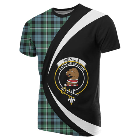 Image of Melville Tartan T-shirt Circle