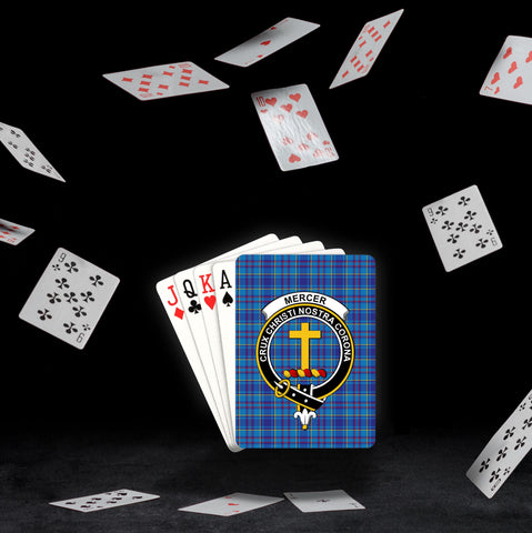 Image of ScottishShop Mercer Playing Card - Tartan Playing Card Royal Style