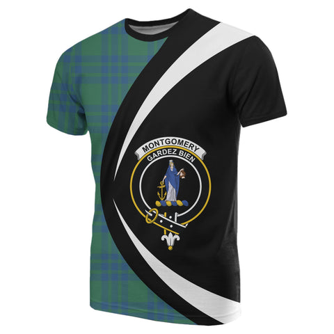 Montgomery Ancient Tartan T-shirt Circle
