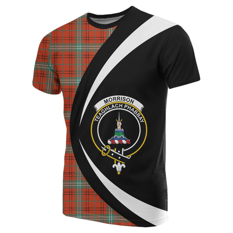 Morrison Red Ancient Tartan T-shirt Circle