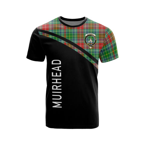 Muirhead Tartan All Over T-Shirt - Curve Style