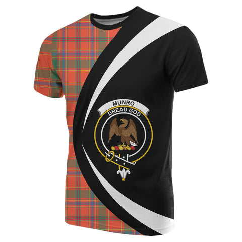 Image of Munro Ancient Tartan T-shirt Circle