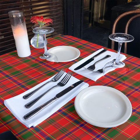 Image of Munro Modern Tartan Tablecloth | Home Decor