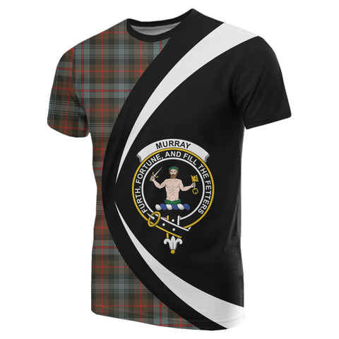 Image of Murray of Atholl Weathered Tartan T-shirt Circle