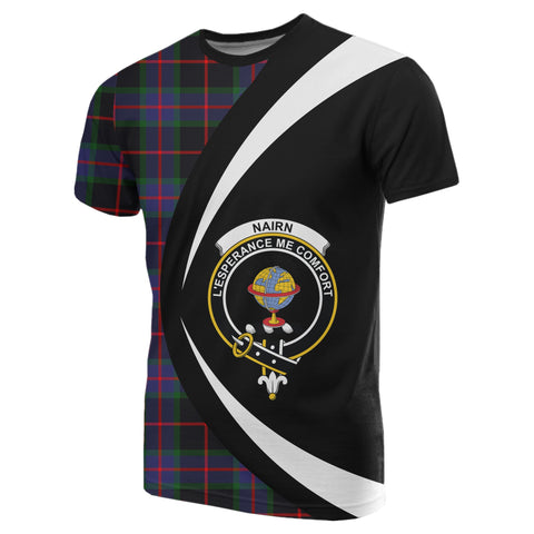 Image of Nairn Tartan T-shirt Circle
