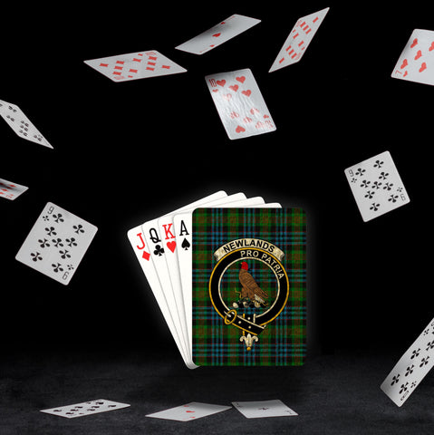 ScottishShop Newlands Playing Card - Tartan Playing Card Royal Style