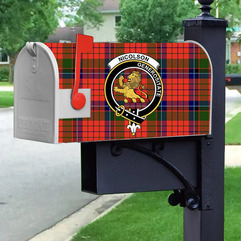 ScottishShop Mailbox Cover - Nicolson Tartan Mailbox (Custom)