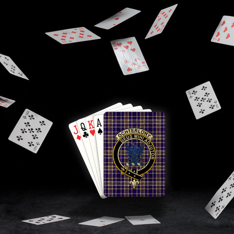 Image of ScottishShop Ochterlony Playing Card - Tartan Playing Card Royal Style