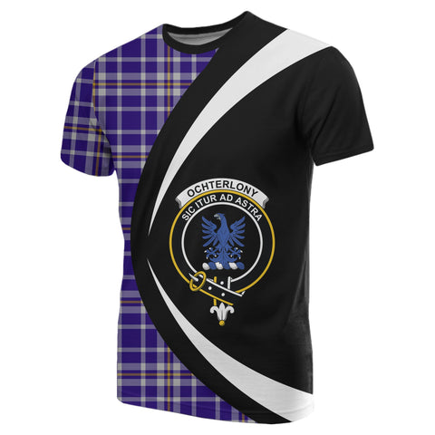 Image of Ochterlony Tartan T-shirt Circle