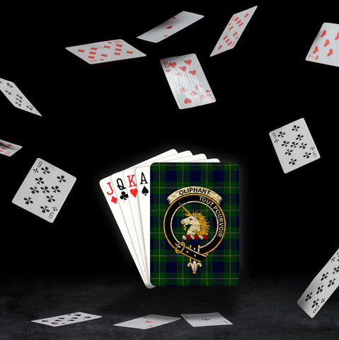 ScottishShop Oliphant Playing Card - Tartan Playing Card Royal Style