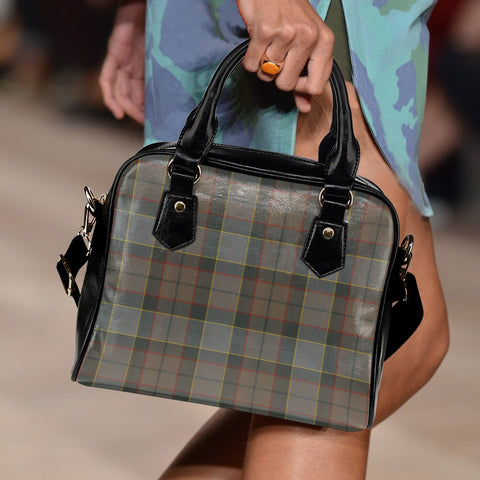 Image of Outlander Fraser Tartan Shoulder Handbag for Women | Hot Sale | Scottish Clans