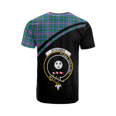 Pitcairn Tartan All Over T-Shirt - Curve Style