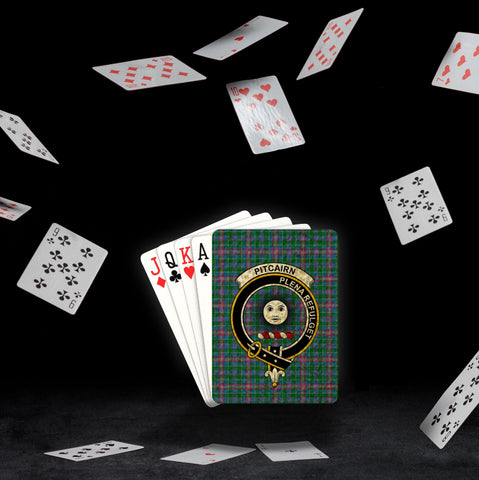 Image of ScottishShop Pitcairn Playing Card - Tartan Playing Card Royal Style