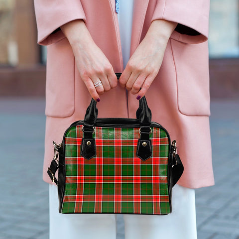 Pollock Modern Tartan Shoulder Handbag for Women | Hot Sale | Scottish Clans