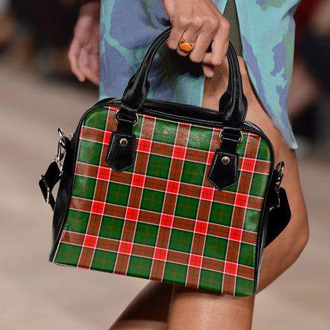 Image of Pollock Modern Tartan Shoulder Handbag for Women | Hot Sale | Scottish Clans