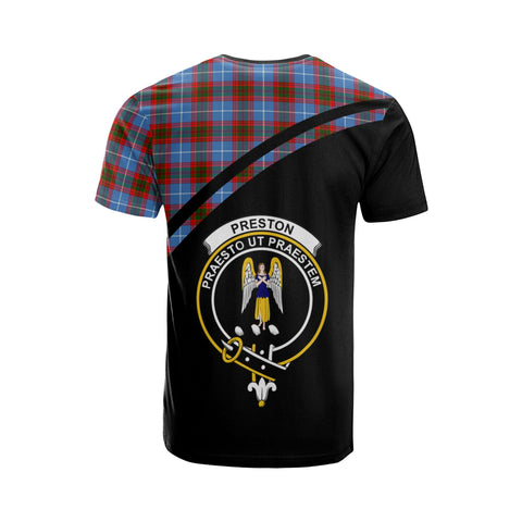 Preston Tartan All Over T-Shirt - Curve Style