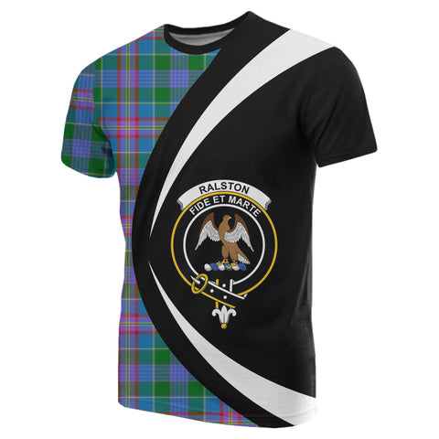 Image of Ralston Tartan T-shirt Circle