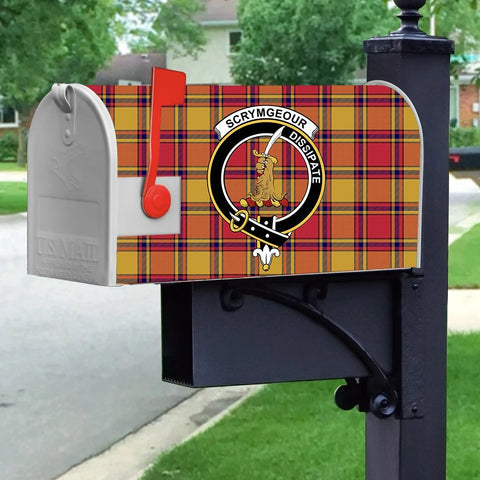 Image of ScottishShop Mailbox Cover - Scrymgeour Tartan Mailbox (Custom)