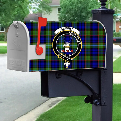 ScottishShop Mailbox Cover - Sempill Tartan Mailbox (Custom)