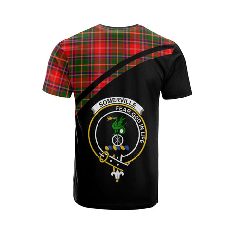 Somerville Tartan All Over T-Shirt - Curve Style