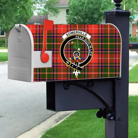 ScottishShop Mailbox Cover - Somerville Tartan Mailbox (Custom)