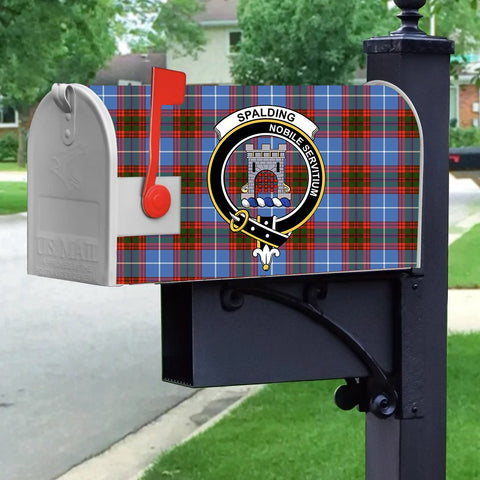 ScottishShop Mailbox Cover - Spalding Tartan Mailbox (Custom)