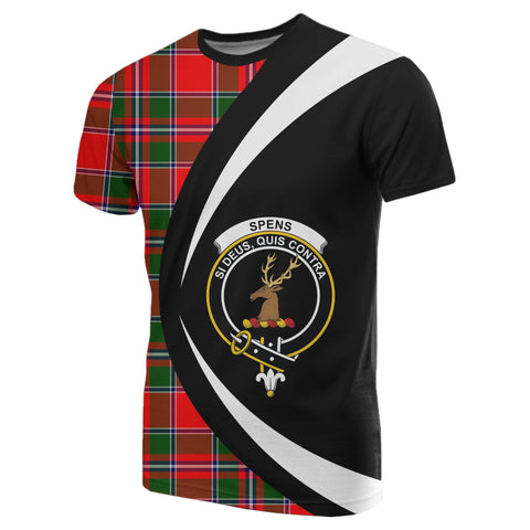 Image of Spens Modern Tartan T-shirt Circle
