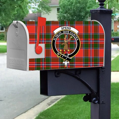 ScottishShop Mailbox Cover - Spens (or Spence) Tartan Mailbox (Custom)