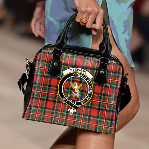 Stewart of Appin Tartan Clan Shoulder Handbag | Special Custom Design