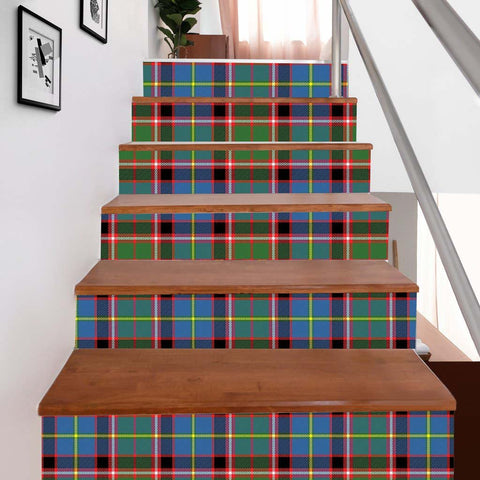Image of Scottishshop Tartan Stair Stickers - Stirling (of Cadder-Present Chief) Stair Stickers - NAC