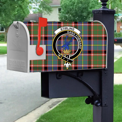 Image of ScottishShop Stirling (of Cadder-Present Chief) MailBox - Tartan  MailBox Cover