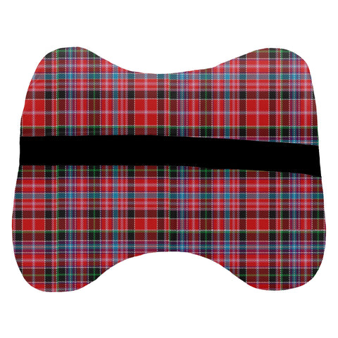 Tartan Head Cushion - Straiton Head Cushion With Clan Crest