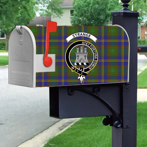 ScottishShop Mailbox Cover - Strange (or Strang) Tartan Mailbox (Custom)