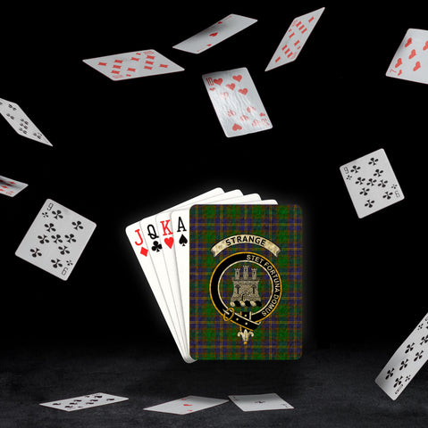 ScottishShop Strange (or Strang) Playing Card - Tartan Playing Card Royal Style